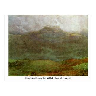 Puy-De-Dome By Millet (Ii) Jean-Francois Postcard