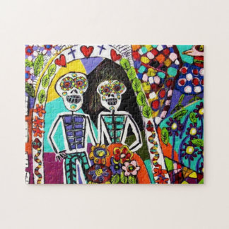 Puzzel - Day of the Dead Jigsaw Puzzle