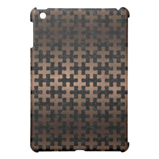 PUZZLE1 BLACK MARBLE & BRONZE METAL COVER FOR THE iPad MINI