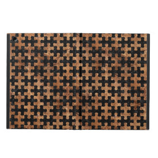 PUZZLE1 BLACK MARBLE & BROWN STONE CASE FOR iPad AIR
