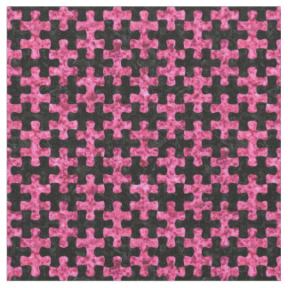 PUZZLE1 BLACK MARBLE & PINK MARBLE FABRIC