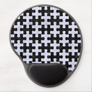 PUZZLE1 BLACK MARBLE & WHITE MARBLE GEL MOUSE PAD