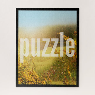Puzzle 16x20 Vertical Fit Template