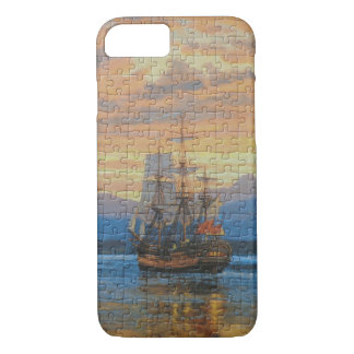 Puzzle Apple iPhone 7, Barely There Phone Case