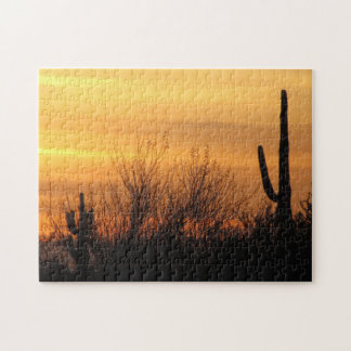 Puzzle--Arizona Sunset-3 Jigsaw Puzzle