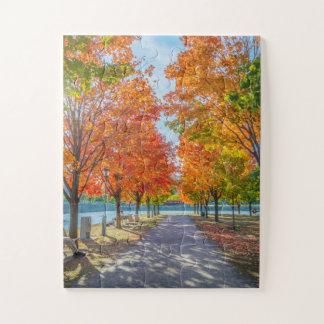 Puzzle: Beautiful autumn landscape. Great Part Jigsaw Puzzle