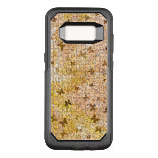 Puzzle Butterflies and Daisies-Browns by STaylor OtterBox Commuter Samsung Galaxy S8 Case