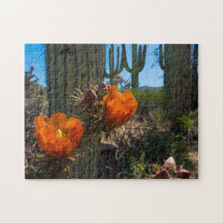 Puzzle - Cacti - Flowers - Arizona