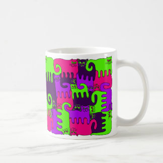 "Puzzle Cats ""Forest Berry 1"" (NEW) Coffee Mug"