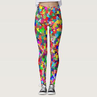 Puzzle Colors Leggings