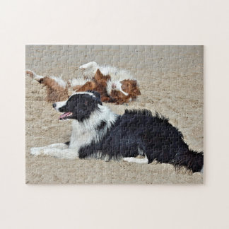 Puzzle - Dogs at the Beach