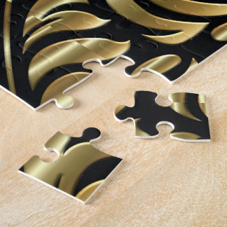 Puzzle - Drama in Black and Gold