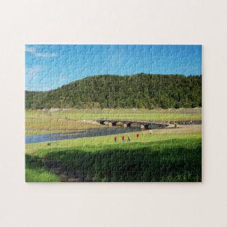 Puzzle Edersee old bridge Asel