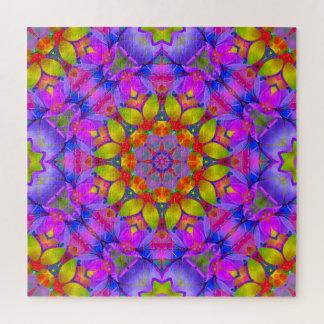 Puzzle Floral Fractal Art G445