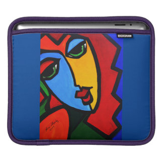 PUZZLE GIRL iPad SLEEVE