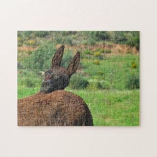 Puzzle: Happy Donkey Jigsaw Puzzle