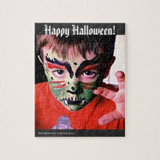 Puzzle Happy Halloween! 8x10 110 pieces w/Gift Box