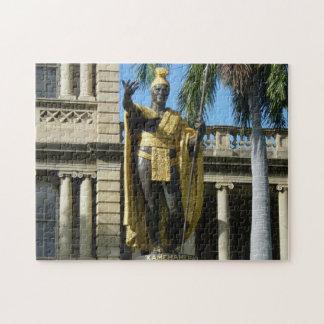 Puzzle, King Kamehameha Jigsaw Puzzle