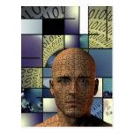 Puzzle Man Postcard
