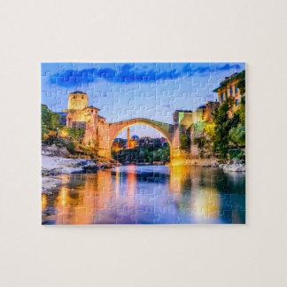 Puzzle, Mostar, Bosnia and Herzegovina Jigsaw Puzzle