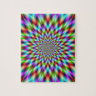 Puzzle  Neon Star Exploding