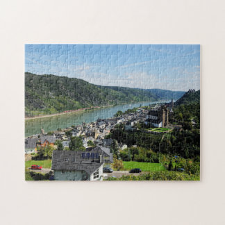 Puzzle Oberwesel in the central Rhine Valley