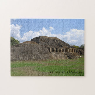 Puzzle of El Tazumal Ruins in El Salvador