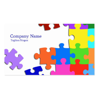 Puzzle Pack Of Standard Business Cards