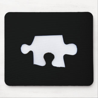 Puzzle piece mouse pad