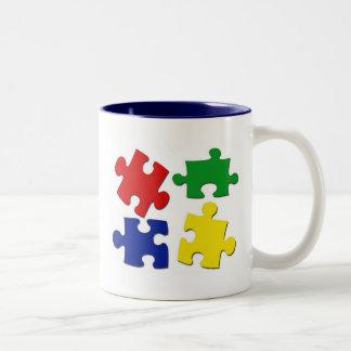 Puzzle Pieces Mug