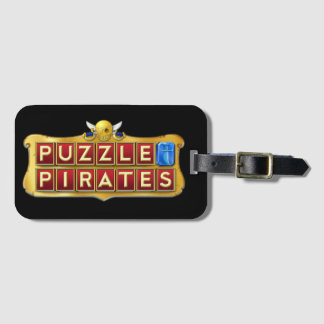 Puzzle Pirates Luggage Tag