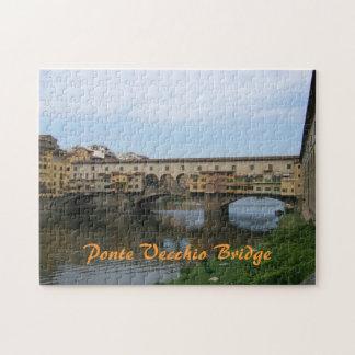 Puzzle--Ponte Vecchio Bridge Jigsaw Puzzle