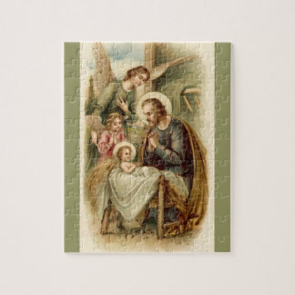 Puzzle: St. Joseph Nativity Puzzle