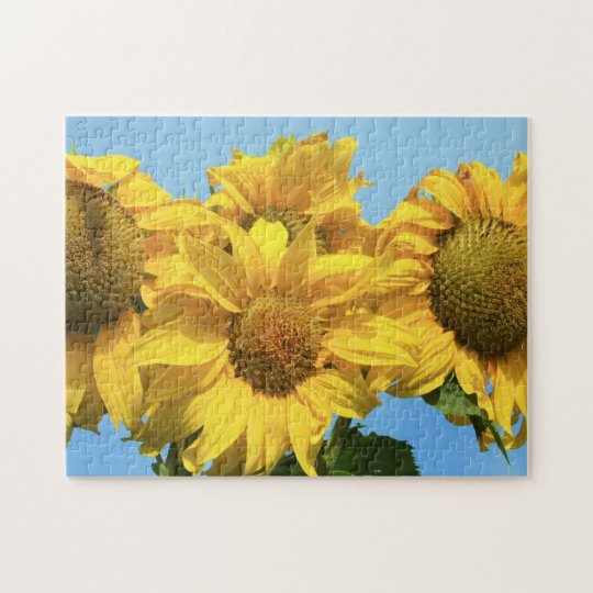 Puzzle Sunflowers