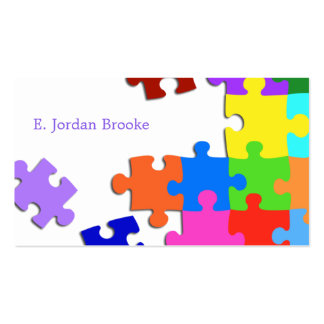Puzzle V2 Pack Of Standard Business Cards