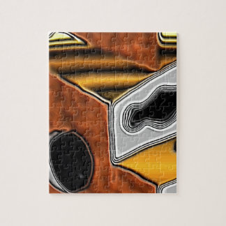 Puzzle with Sci-Fi Art