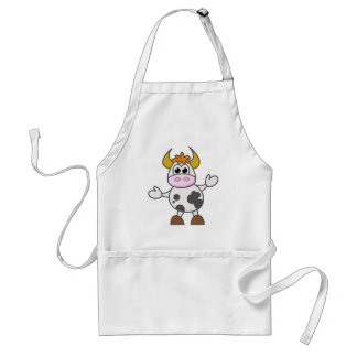 Puzzled Cow Standard Apron