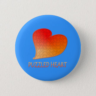 PUZZLED HEART Button