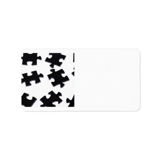 Puzzled Label