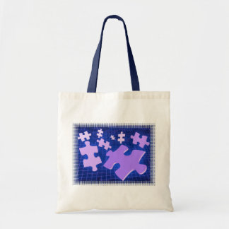 Puzzling Small Tote Bag