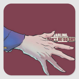 PVRIS Darling Don't Be So Shy Merch Square Sticker