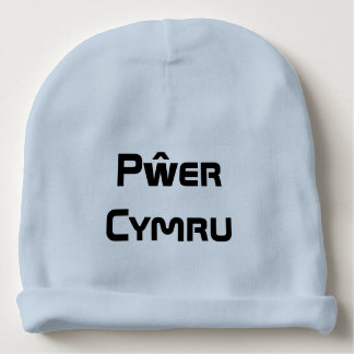 Pŵer Cymru, Welsh Power in Welsh Baby Beanie