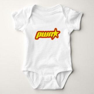 Pwn Star Baby Bodysuit