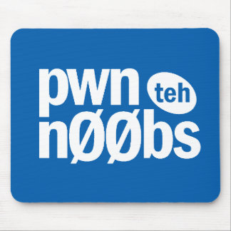 Pwn teh Noobs Mousepad