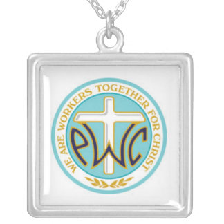 PWOC logo necklace