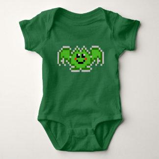 PXL Cute Batty (Green) Baby Bodysuit