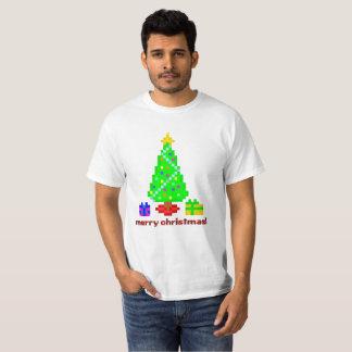 PXL Merry Christmas (Tree Scene) T-Shirt