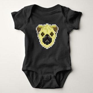 PXL Pug Baby Bodysuit