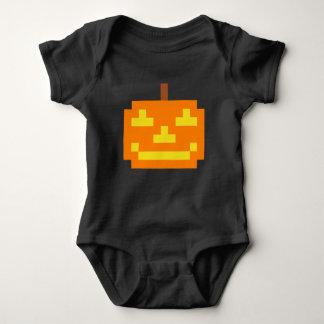 PXL Simple Jack O' Lantern Baby Bodysuit