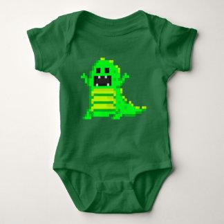 PXL T-Rex (Gn) Baby Bodysuit